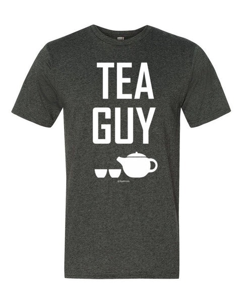 Tea Guy Heather Dark Grey T-Shirt - Unisex