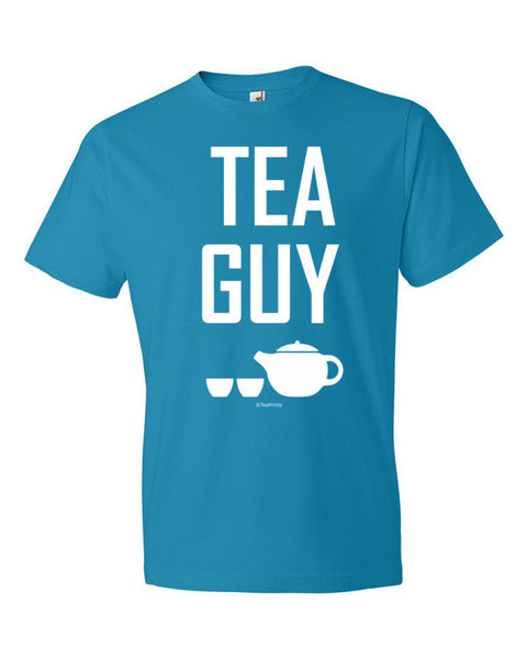 Tea Guy Caribbean Blue T-Shirt - Unisex