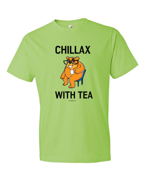 Chillax with Tea Key Lime T-Shirt - Unisex