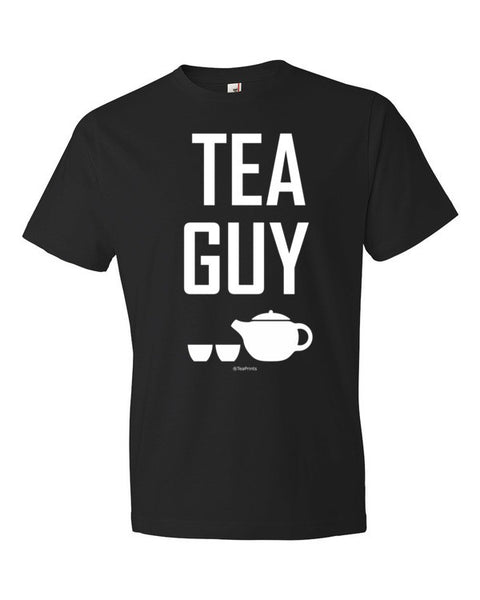 Tea Guy Black T-Shirt - Unisex