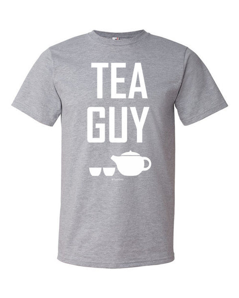 Tea Guy Heather Grey T-Shirt - Unisex