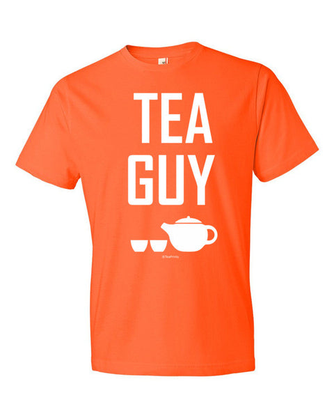 Tea Guy Orange T-Shirt - Unisex