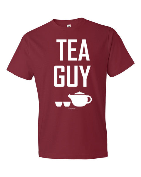 Tea Guy Red T-Shirt - Unisex