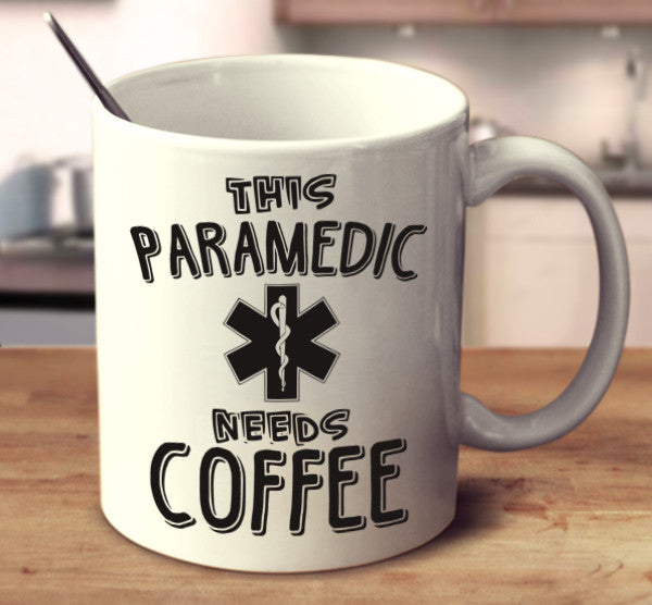 This Paramedic Needs Coffee