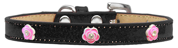 Bright Pink Rose Widget Ice Cream Pet Collar