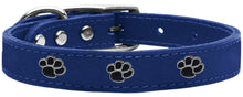 Faux Ostrich Leather Pet Collar