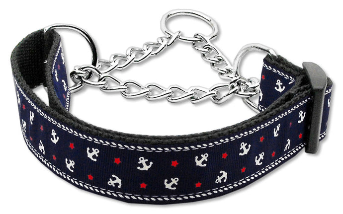 Martingale Anchors Dog Collars
