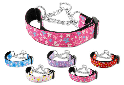 Martingale Butterflies Dog Collars