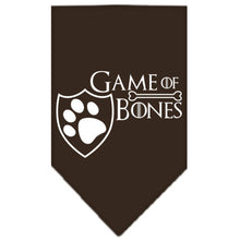 Game of Bones Screen Print Dog Bandana