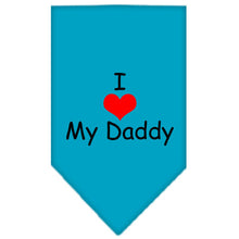 I Heart My Daddy Screen Print Bandana