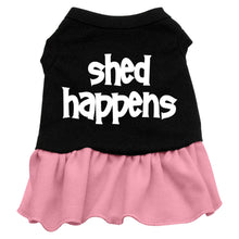 Shed Happens Screen Print Dog Dress