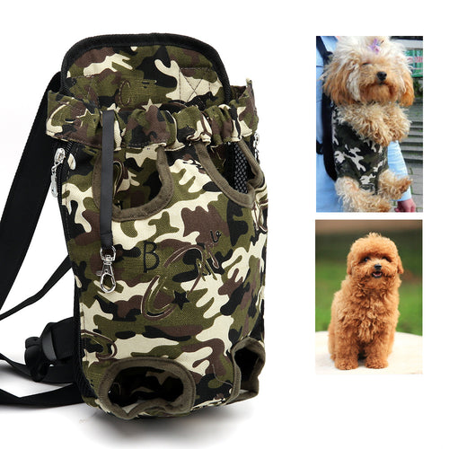 Camo Backpack Pet Carrier