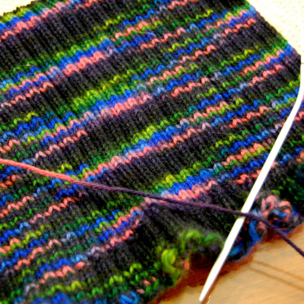 Knitting (grades 3-4, session 2)