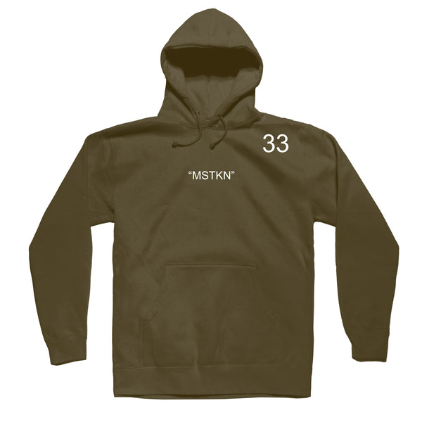 BHC Hoodie Olive