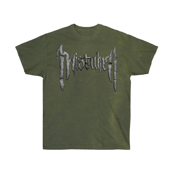 Death of Love Washed T-Shirt Olive