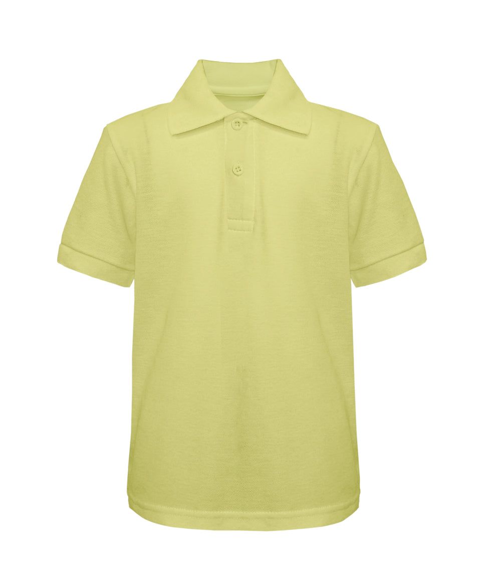 -Tanvir Pique Polo - Light Yellow