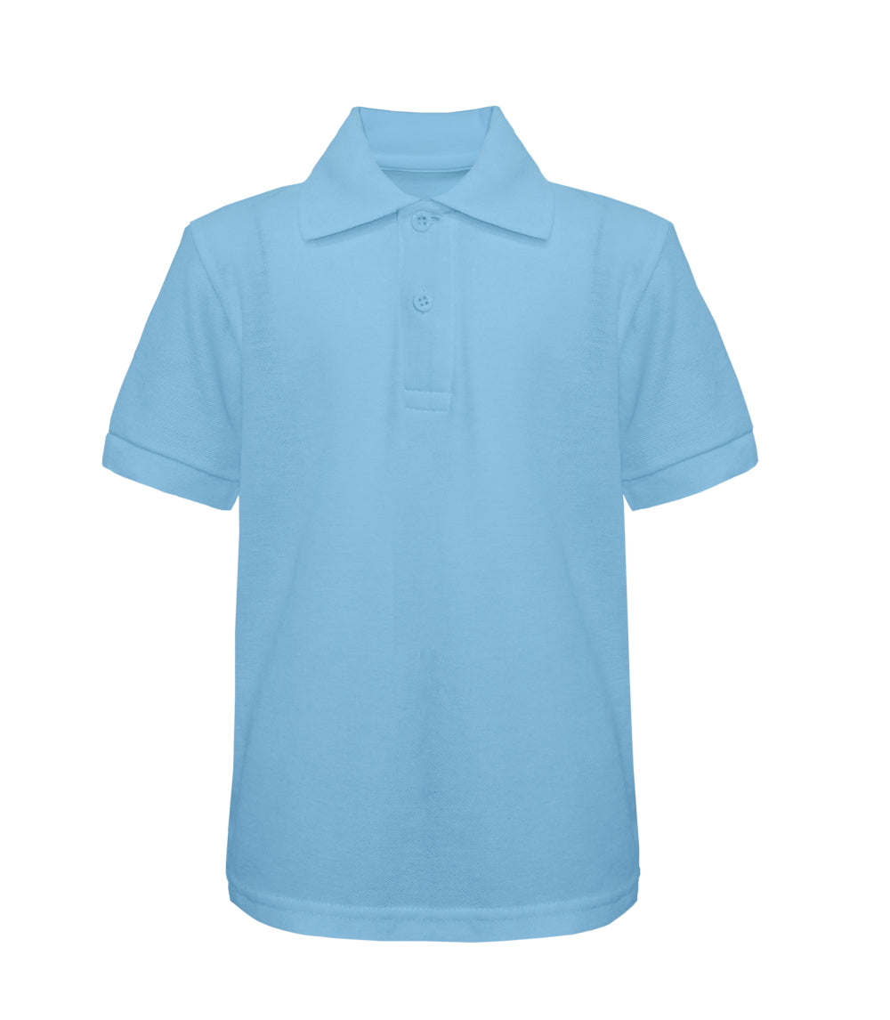 -Tanvir Pique Polo - Light Blue