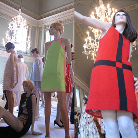 John Bates mod fashion retrospective exhibit