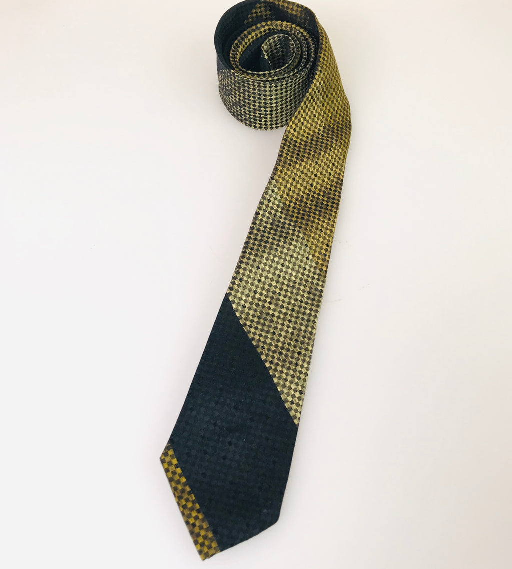 1960's Striped Harlequin Tie