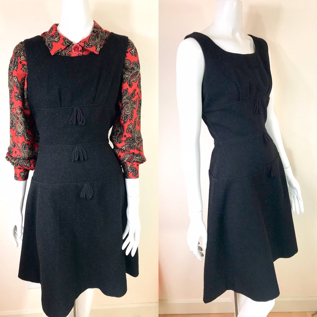 1950's Tiered Jumper Dress