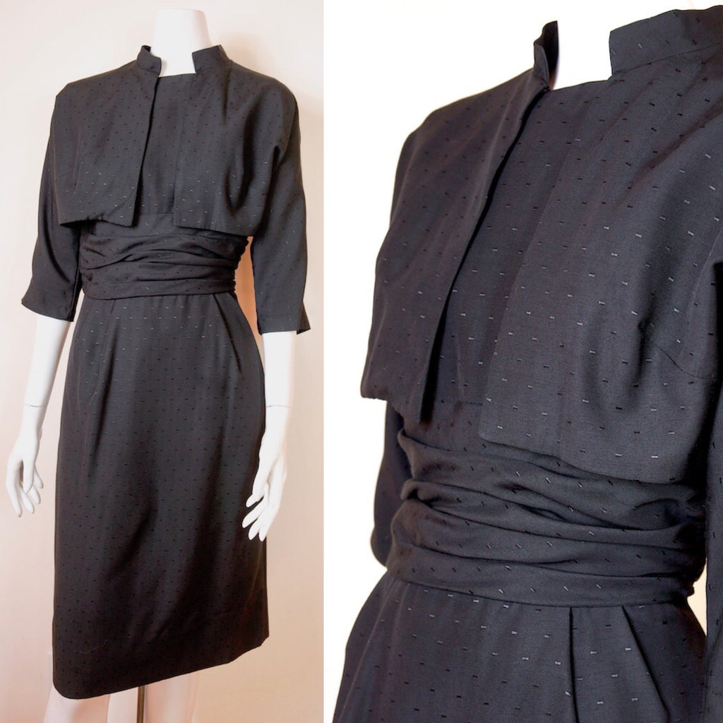 1950's Cocktail Dress with Bolero