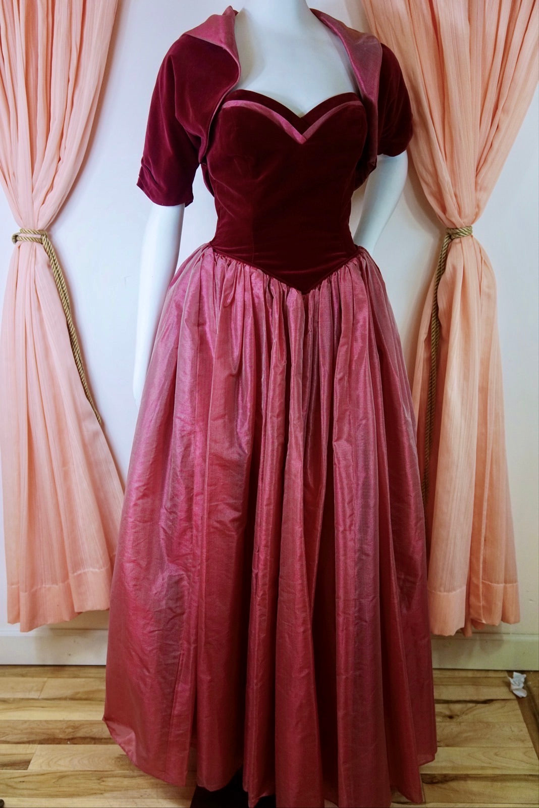 1950's Ball Gown with Matching Bolero