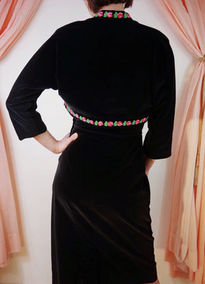 1950's Carlye Wiggle Dress with Bolero
