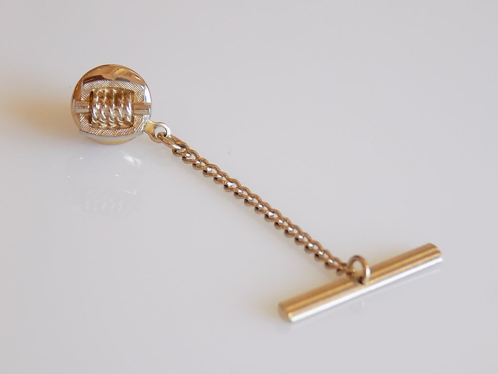 Gold Tie Tack Rope on a Stick