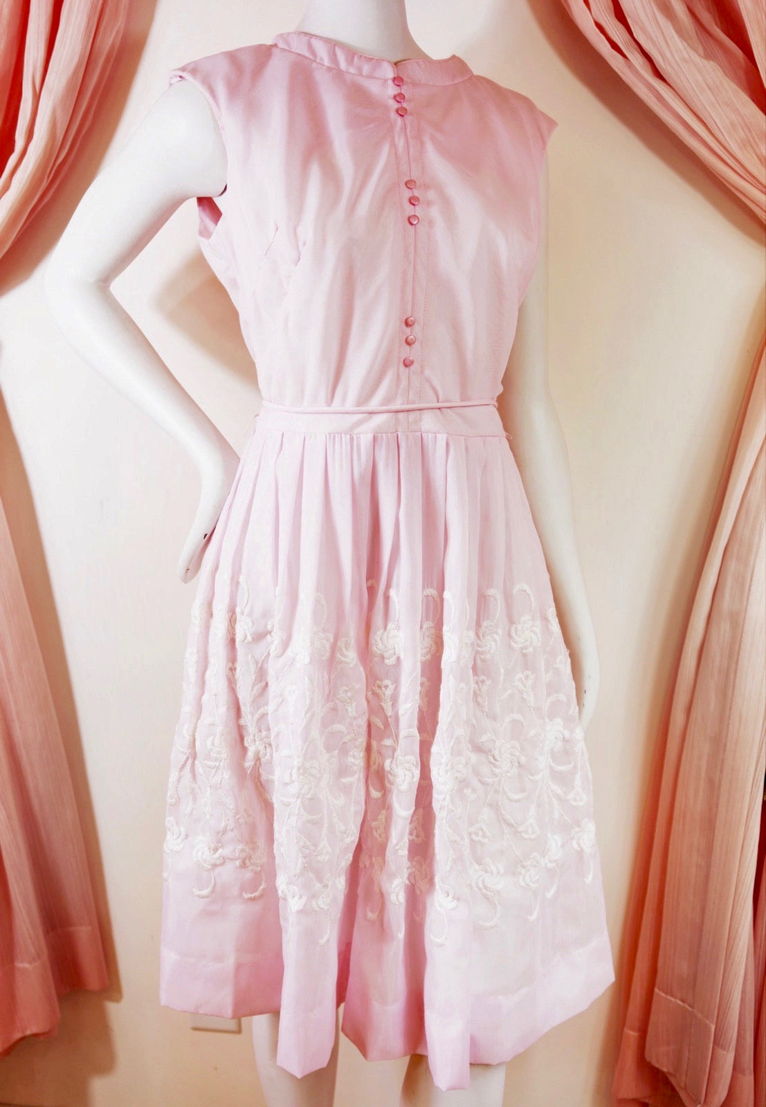 1950's Sweetpea Summer Dress