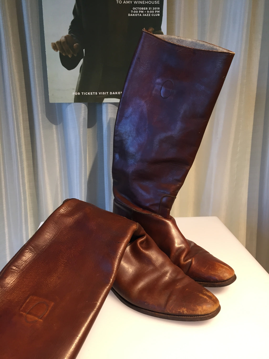 1970s Marshall Fields Bespoke Riding Boots