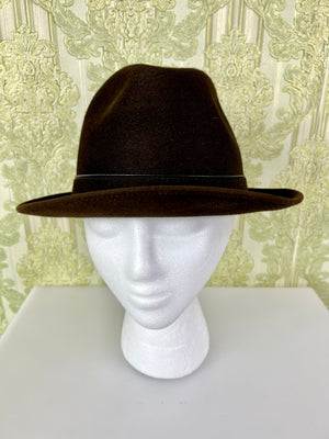 Hammered Gold Clamp Earrings