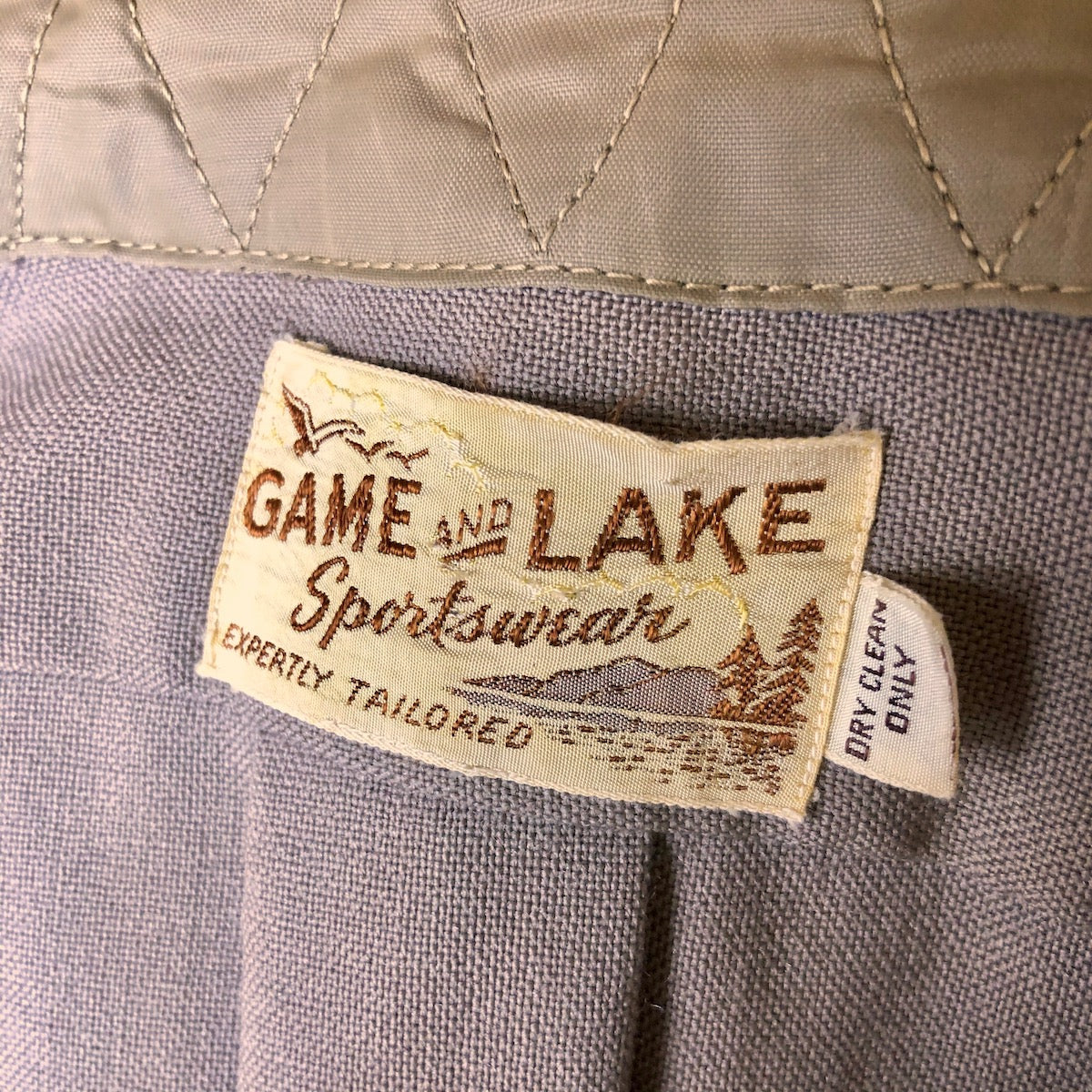 1950's Game and Lake Sportswear Shirt