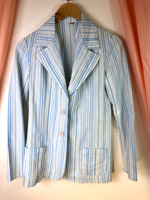 1970's Striped Blazer