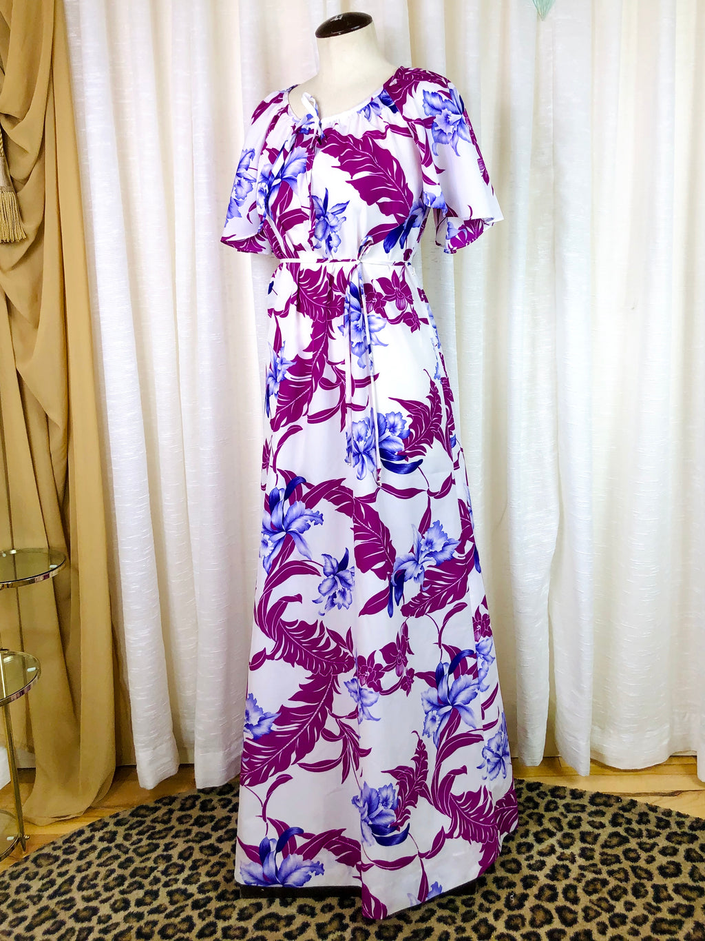 1970's Hilo Hattie's Tropical Pool Dress