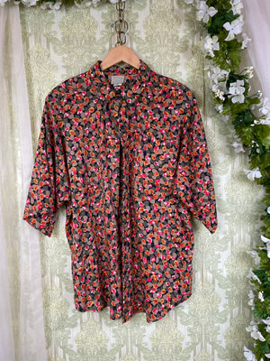 1960's Plaid House Dress