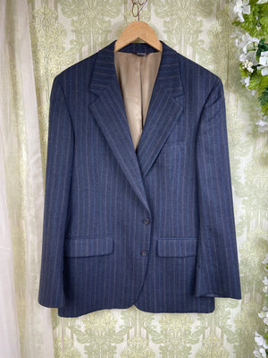 1950's Checkered Peplum Suit