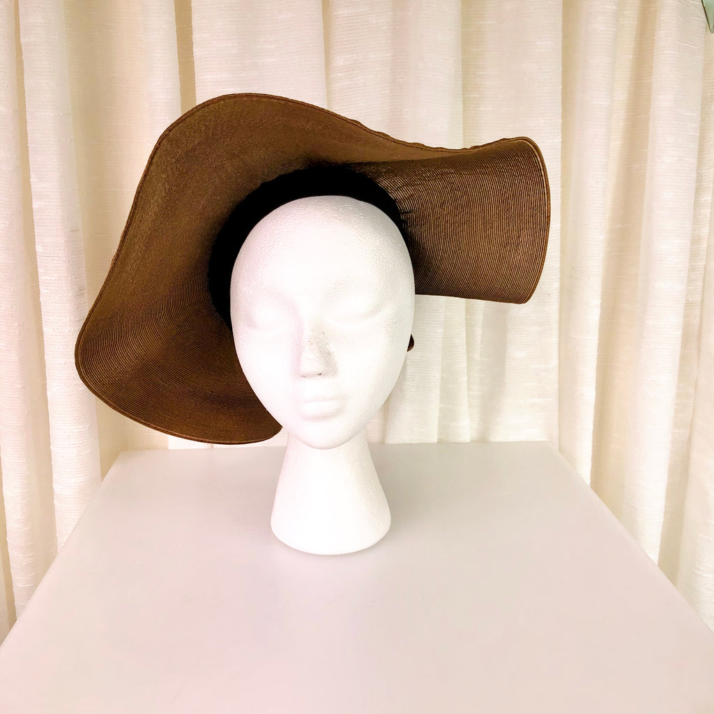 1930's Floppy Halo Hat