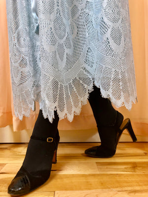 1970's Lace Garden Party Dress