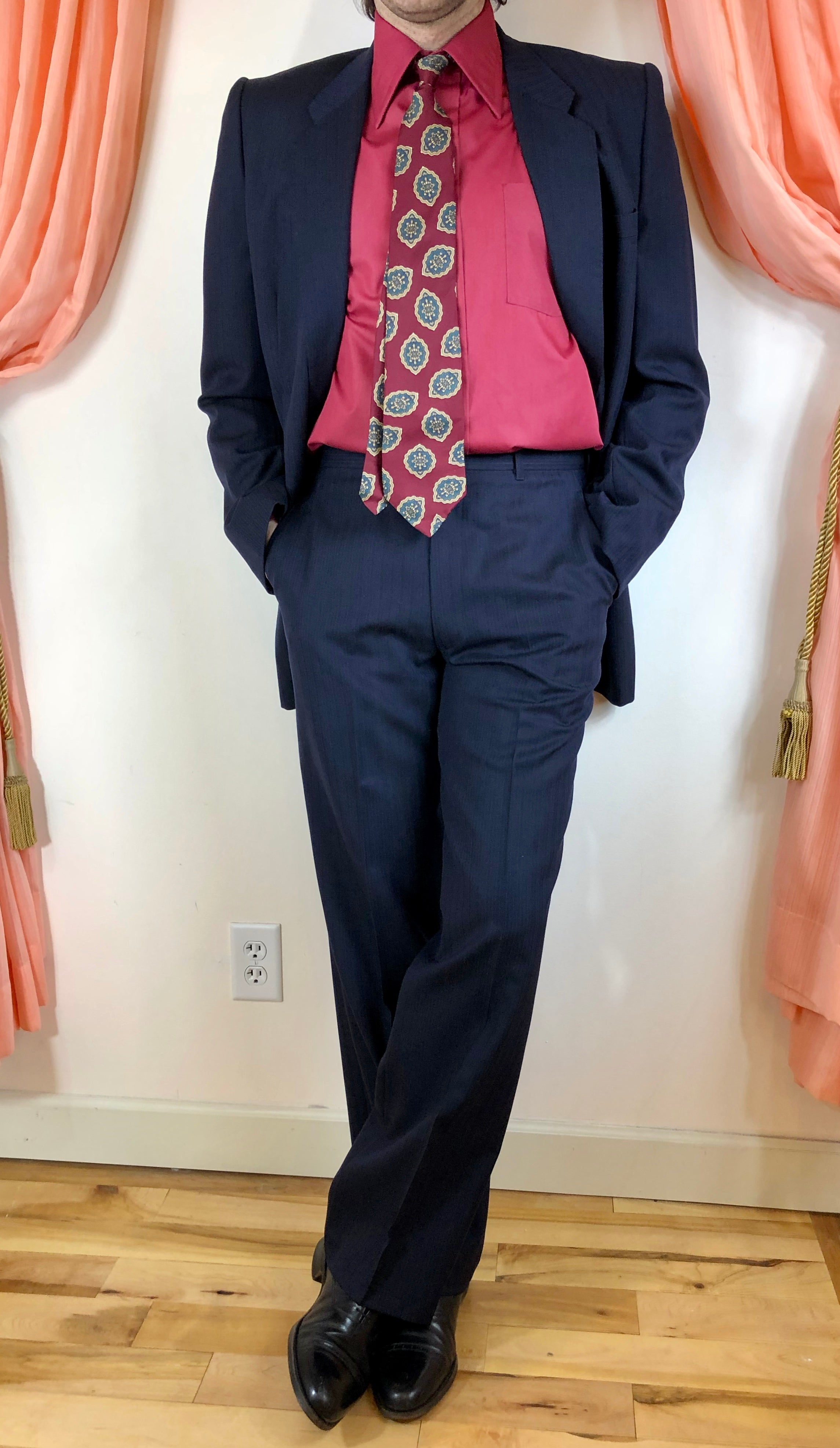 1980's PT by Princeton Pinstripe Suit