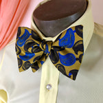 Teardrop Gold Big Bowtie