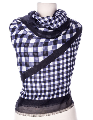 Zephyr Checkers Spring Scarf