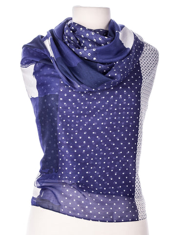 Benson Spring Scarf with Tassles