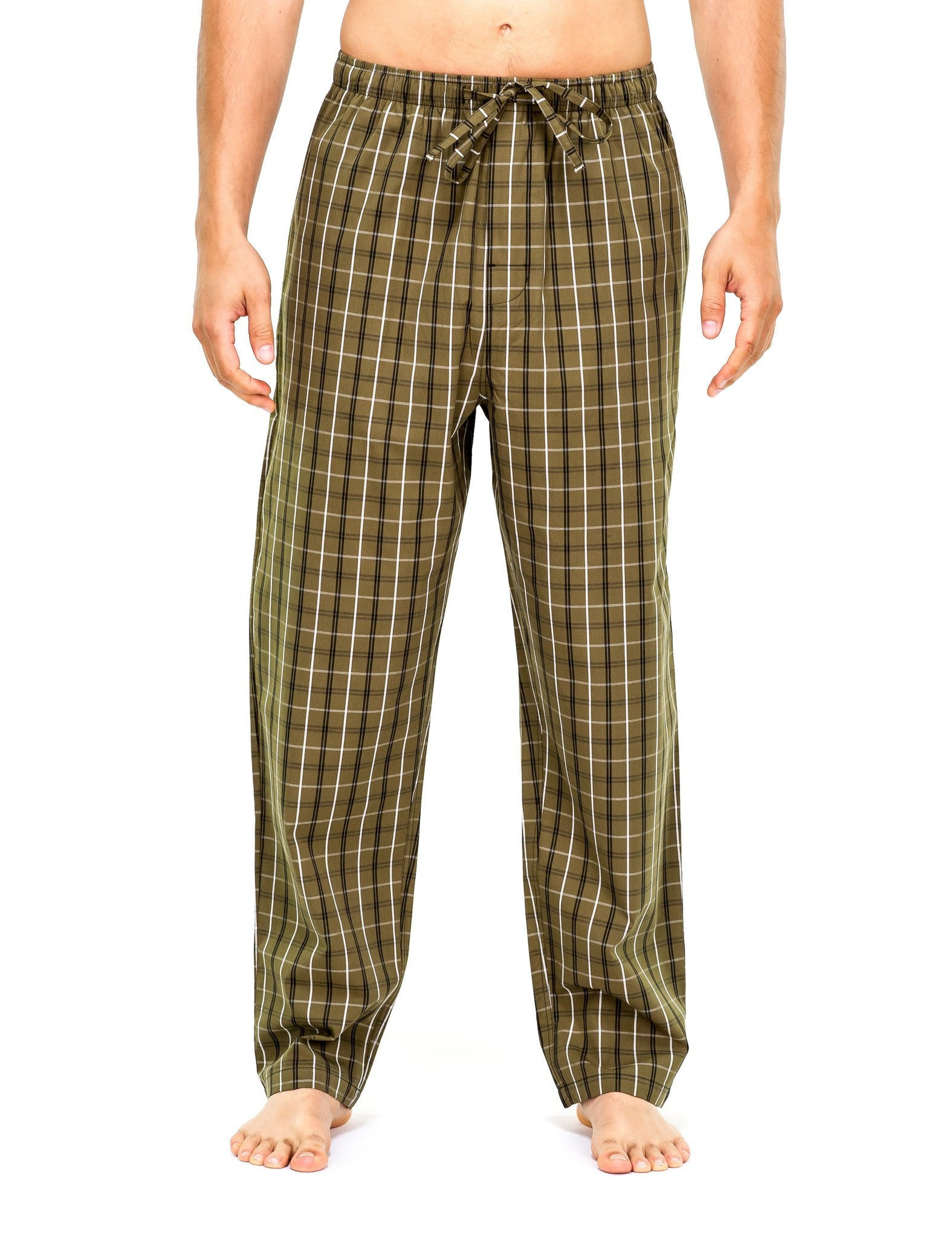 2-Pack (Dark Blue - Military Olive Plaid)