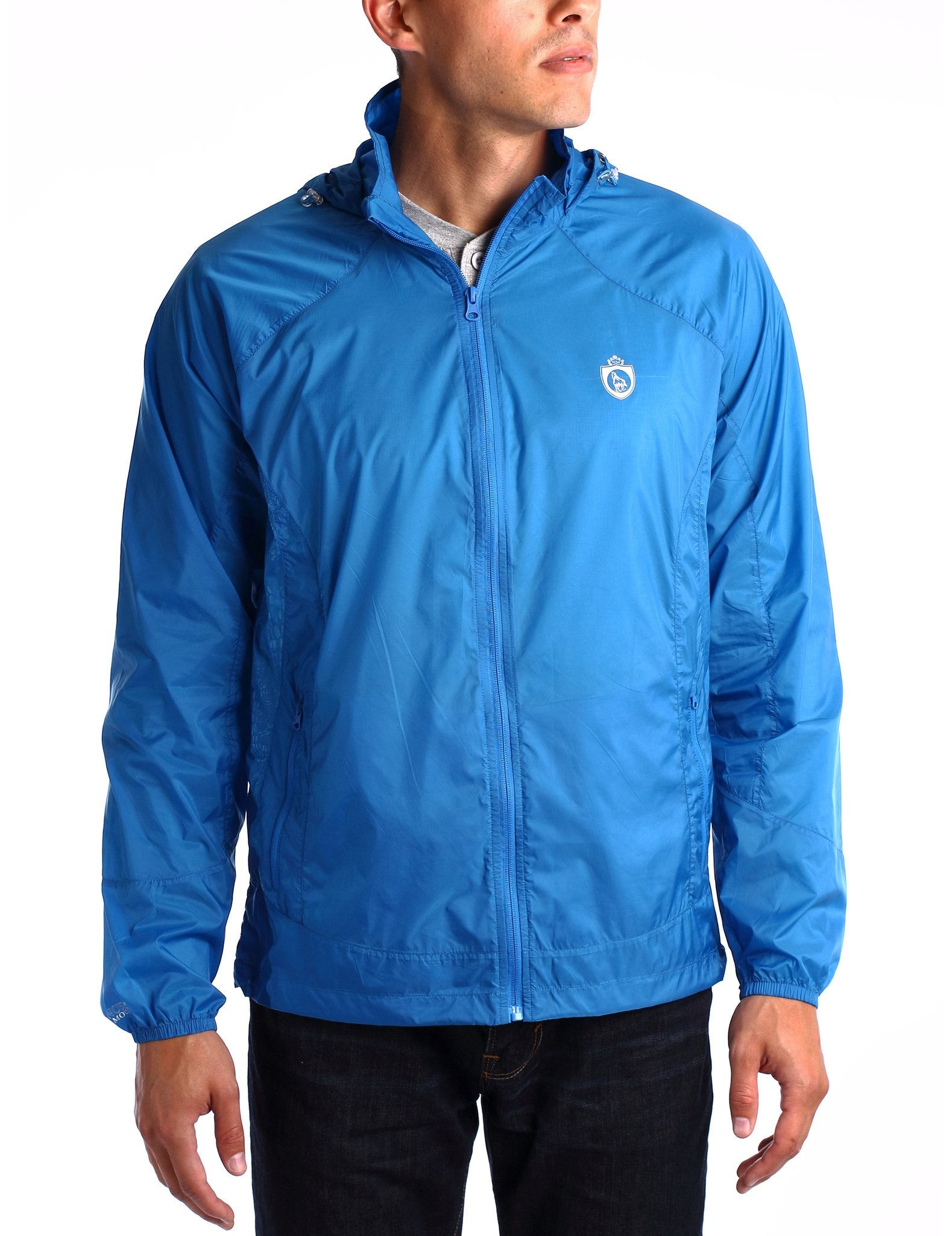 Men's Active Air-weight Windbreaker Packable Jacket