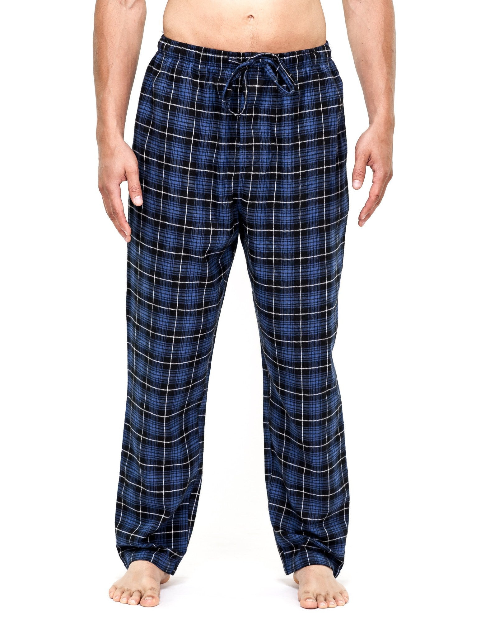 2-Pack (Black-Burgundy/Black-Blue Plaid)