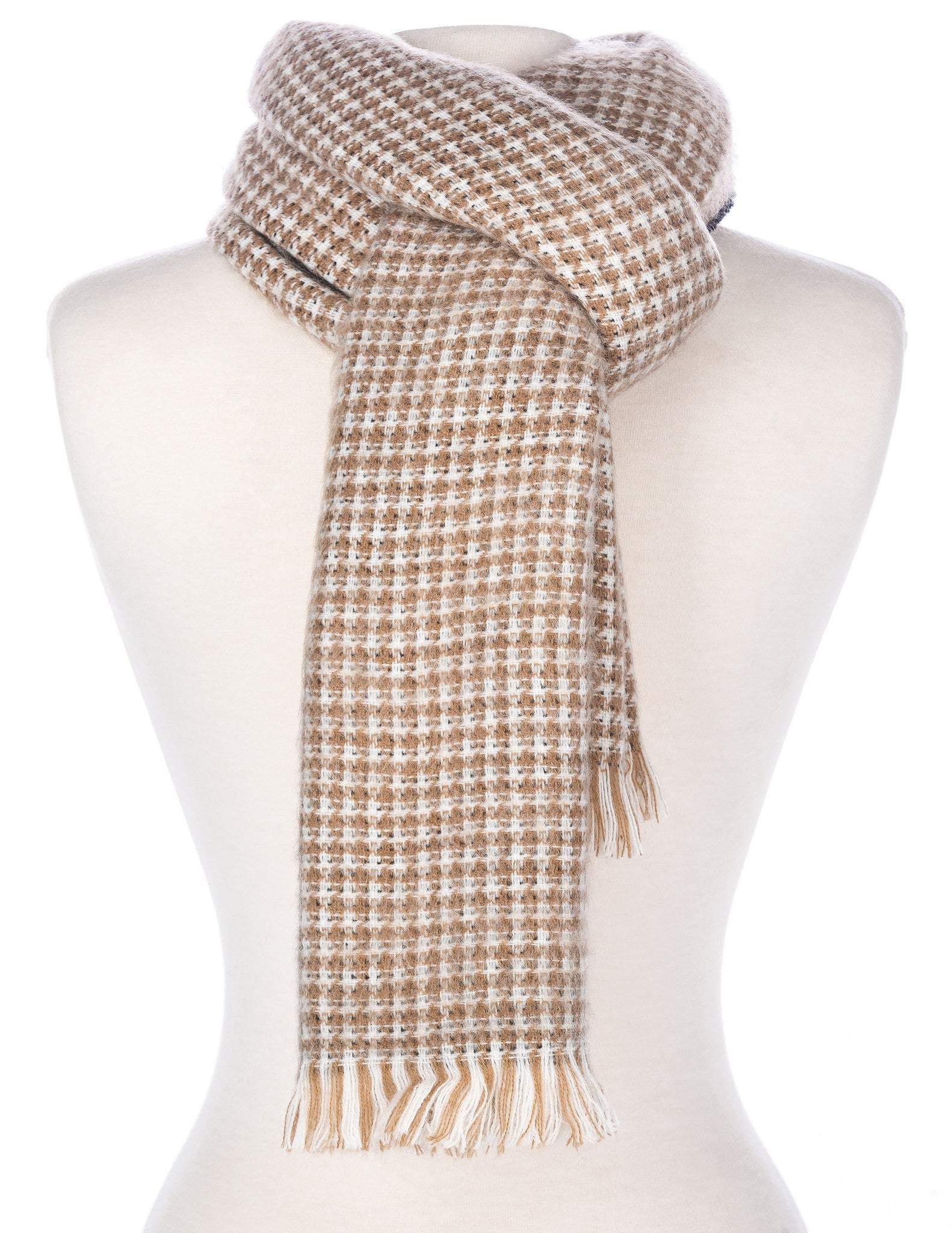 Men's Milan Two-Tone Reversible Winter Scarf