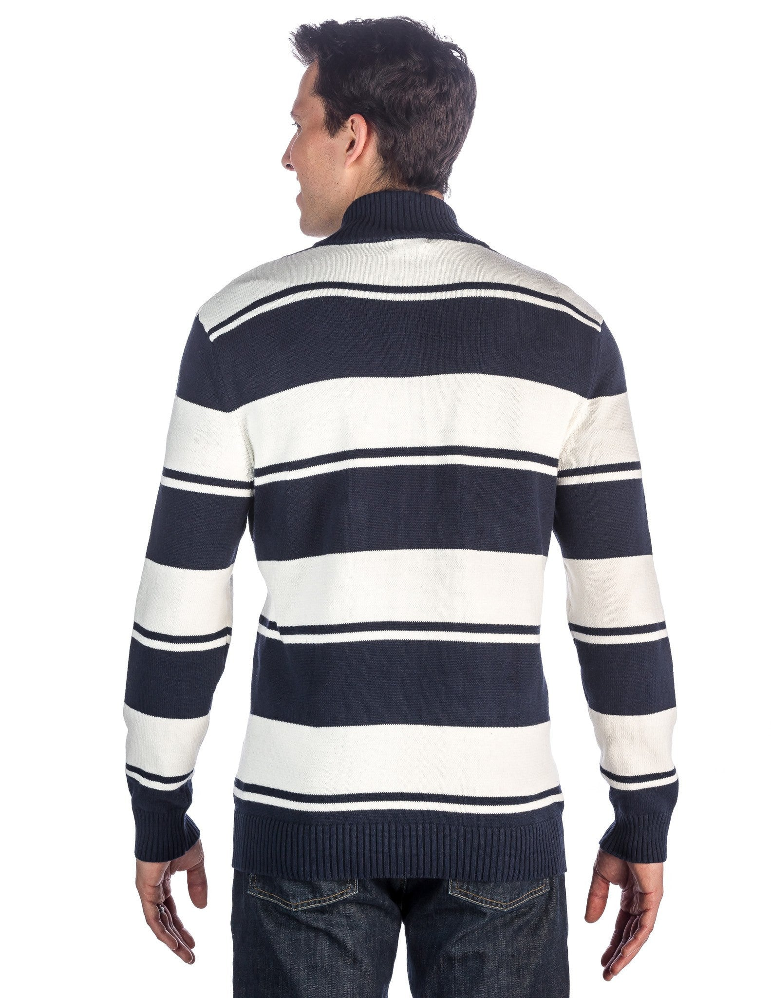 Combo Stripes Navy-Ivory