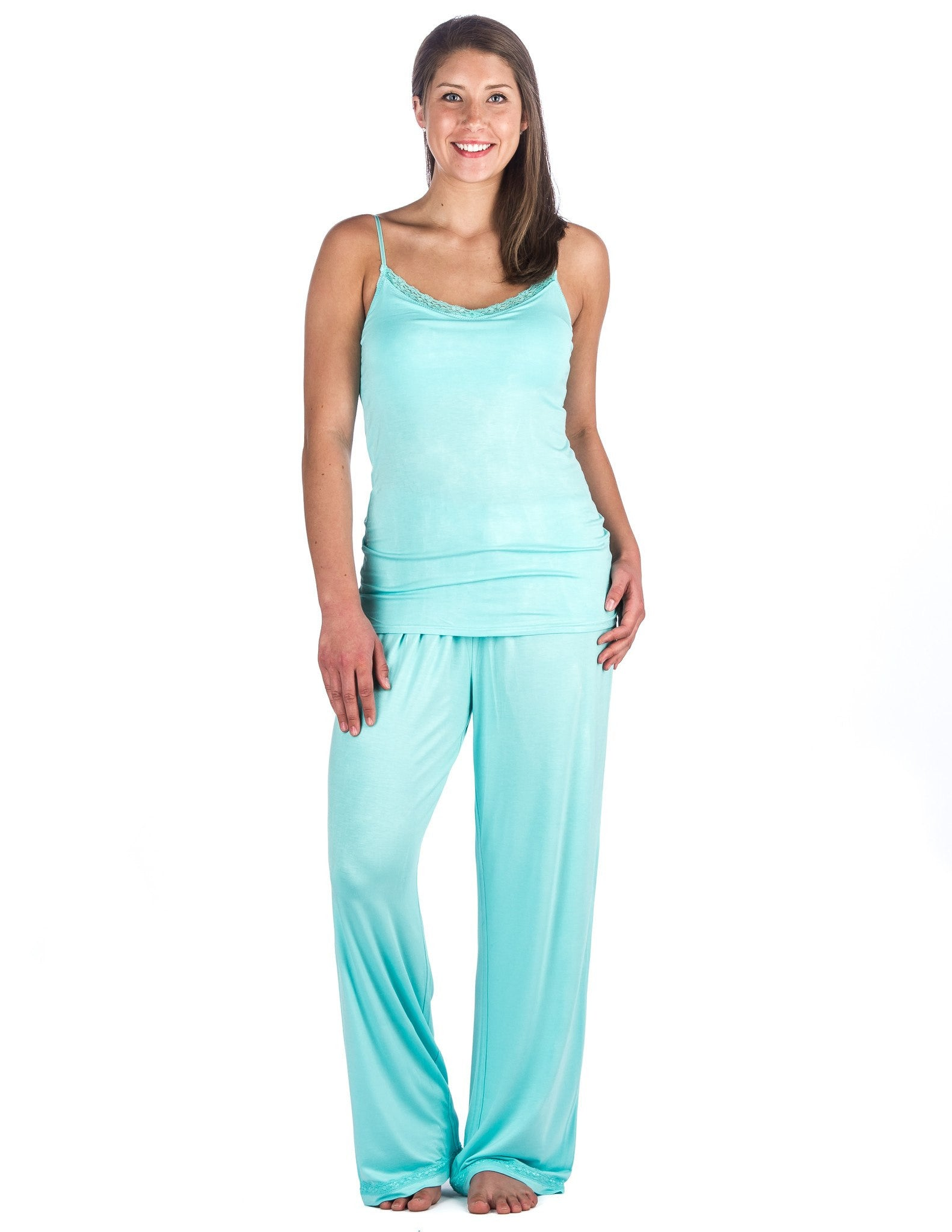 Women's Cool Knit Camisole Lounge Set