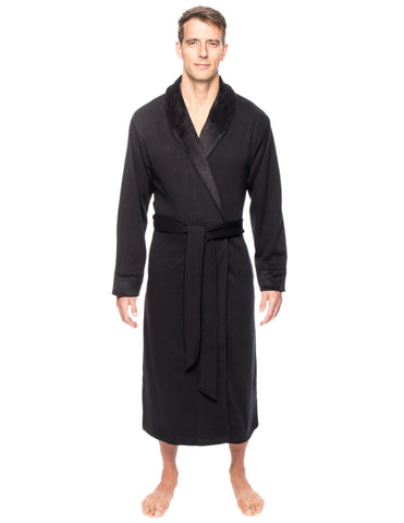 Men's Super Soft Brushed Robe