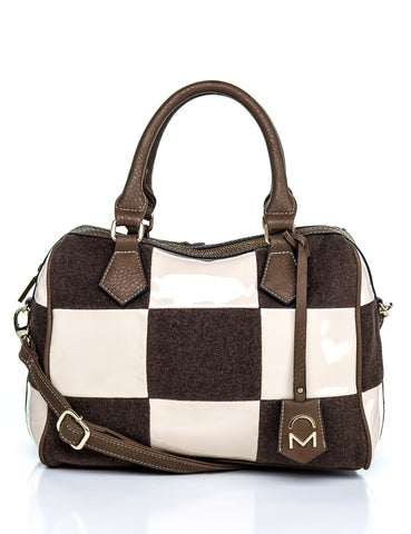 Edith Chessboard Satchel